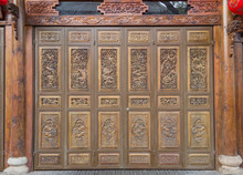 Chinese Carved Doors And Windows