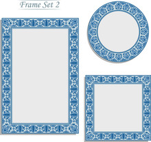 Porcelain Picture Frame In Ori...
