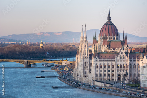 Foto Hungarian Parliament in Budapest