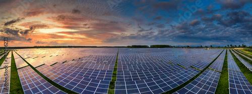 Slika na platnu Solar power station
