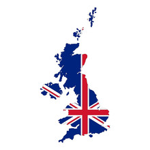 Map Of United Kingdom. Vector ...