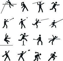 Various Sport And Athletics Ve...