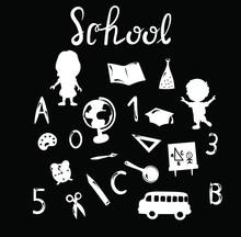 School, Education , Kids, Alph...