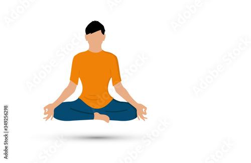 meditazione, concentrazione, idea, lampadina, idee, Wallpaper Mural