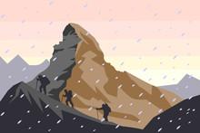 Matterhorn Vector Illustration...