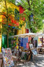BUENOS AIRES - NOV 24: Colorfu...