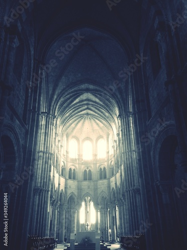 Canvas Print Low Angle View Of Church Ceiling