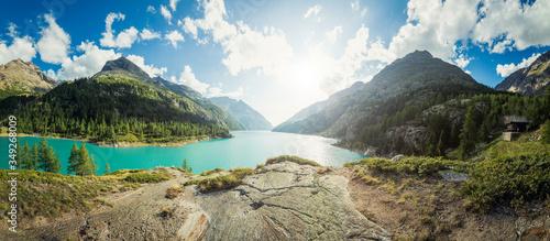 Tela Panorama montano alpino