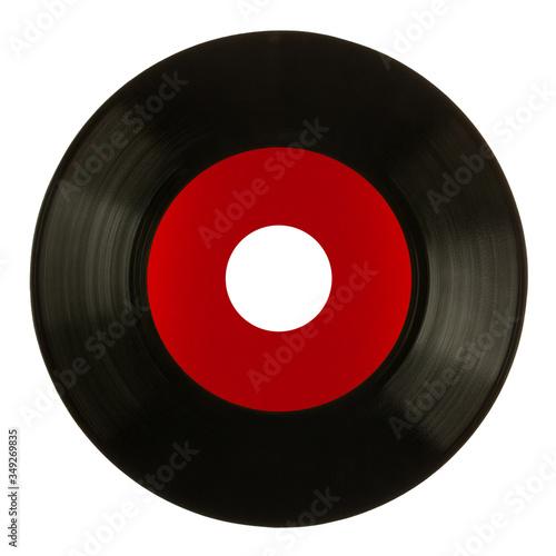 Płyta winylowa, singiel 45 rpm.