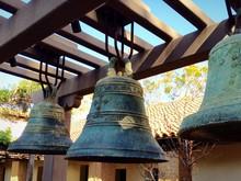 Close-up Of Metallic Bells At Mission San Luis Obispo De Tolosa