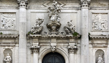 Photo Of Baroque Marble Facade...