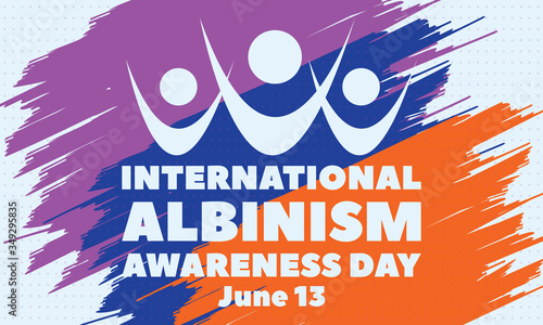 Valokuva International Albinism Awareness Day (IAAD) is observed every year throughout the world on 13 June