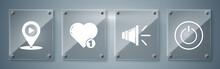 Set Power Button, Speaker Volu...