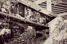 Low Angle View Of Abandoned Fo...