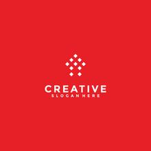Letters A Digital Logo, Creati...