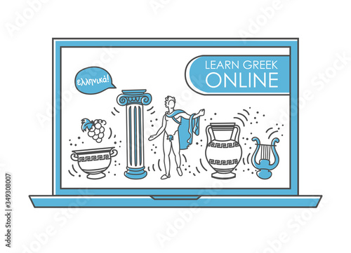 Photo Learn the Greek language online