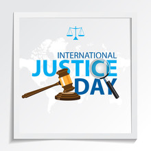International Justice Day Gree...