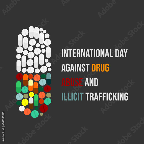 Photo International day against drug abuse and illicit trafficking