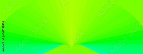 Fotografia, Obraz abstract green background with stars rays fractal burst textures vector illustra