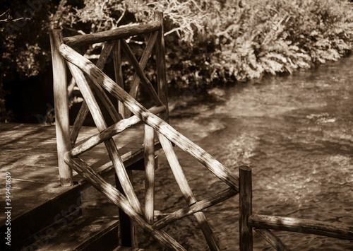 Fotografie, Obraz Cenote Jardin Del Eden is a favorite of the inhabitants of the Riviera Maya, M