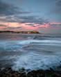 Bondi Beach at sunset, Sydney Australia