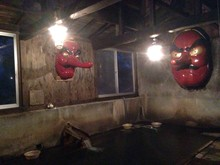 Bathroom In Log Cabin