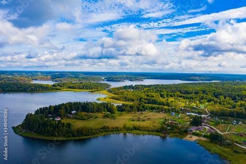 Fotografija Panorama of Karelia on a Sunny day