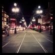 Tramway At Night