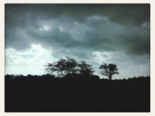 Stormy Weather And Heavy Sky