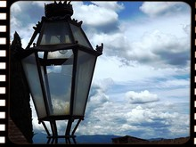 Close-up Of Lantern Against Th...