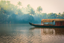 A Traditional House Boat Is An...