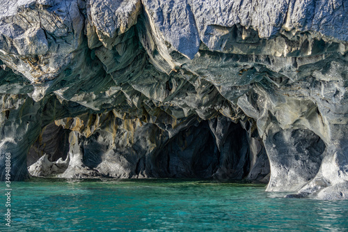 Cuadros en Lienzo marble caves natural wonder in Patagonia