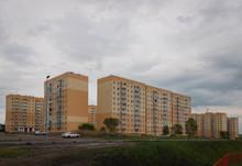 Set Of Renovated Block Flats