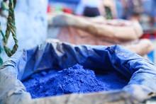 Pintura Azul En Marruecos