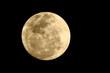 Leinwandbild Motiv Full Moon Against Clear Sky At Night