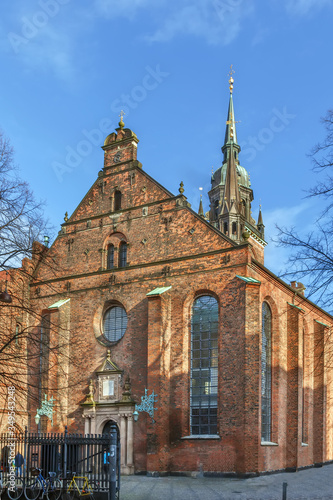 Church of the Holy Ghost, Copenhagen, Denmark Wallpaper Mural