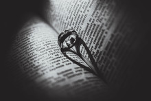Heart Made With Book And Ring
