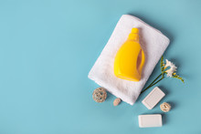 White Bath Towel, Detergent, S...