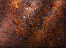 Dark Rusty Metal Texture Backg...