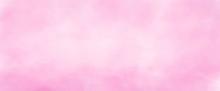 Pink Watercolor Background Han...