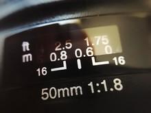 Close-up Of Lens