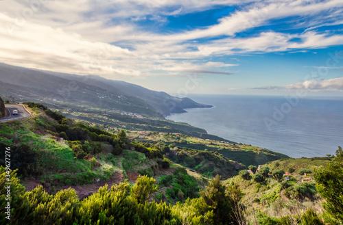 Fotomural La Palma costa Nord