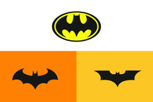 Batman Logo Vector Art Design
