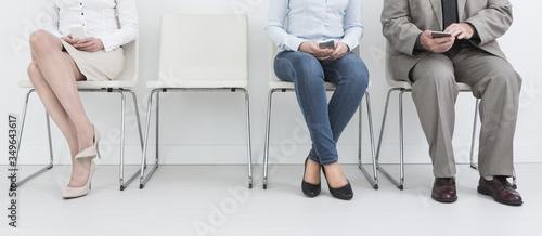 Fotomural Recruitment recruiting recruit hiring hire - concepts.