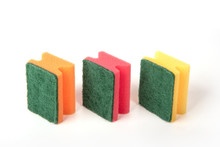 Three Sponges For Washing