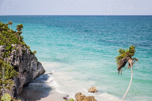 Playa de Tulum Canvas Print