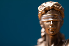 Face Of Lady Justice Or Iustit...