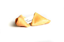 Fortune Cookie With Lucky Message