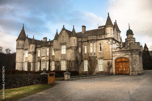 Balmoral Castle. Aberdeenshire, Scotland, UK Canvas Print