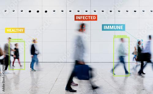Coronavirus Tracking App zur Überwachung von Kontaktpersonen